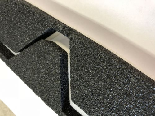 Foam Eaves Fillers Profile 32/1000 250 Pitch 10 Pack